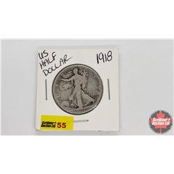 US Half Dollar : 1918