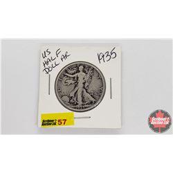 US Half Dollar : 1935