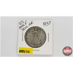 US Half Dollar : 1937