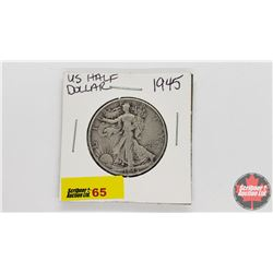US Half Dollar : 1945