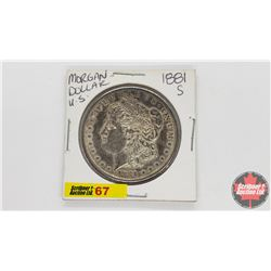 US Morgan Dollar : 1881S