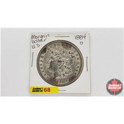 US Morgan Dollar : 1884O