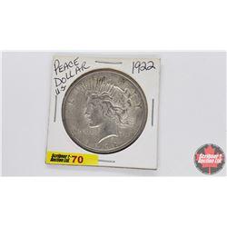 US Morgan Dollar : 1922