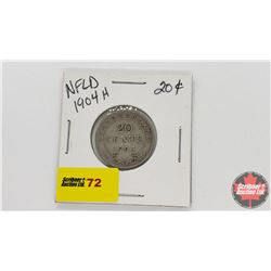 NewFoundland Twenty Cent : 1904H