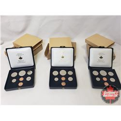 RCM Bulk Lot (3) : 1971 Specimen Double Penny Year Sets (Note: This is an Estate Lot - many items st