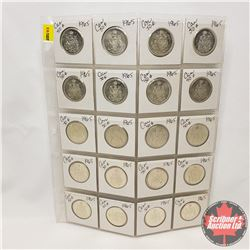 Canada Fifty Cent - Sheet of 20 : 1965