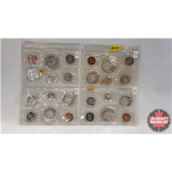 Canada Proof Year Sets - Sheet of 4 Sets (1965; 1965; 1965; 1964)