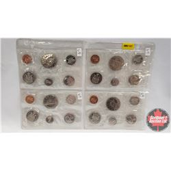 Canada Proof Year Sets - Sheet of 4 Sets (1969 x 4)