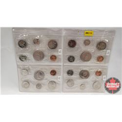 Canada Proof Year Sets - Sheet of 4 Sets (1973; 1973; 1972; 1972)