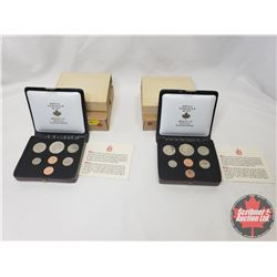 RCM Bulk Lot (2) : 1974 Specimen Double Penny Year Sets (Note: This is an Estate Lot - many items st