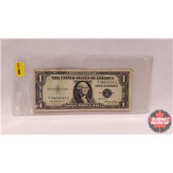 """US $1 Bill 1935E """"Blue Seal"""" (F38219121I)"""