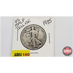 US Half Dollar: 1935