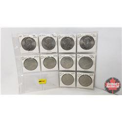 US Liberty Dollar - Sheet of 10 : (1776-1976 x 6) (1972 x 3) (1971 x 1)
