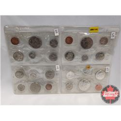 Canada Proof Year Sets - Sheet of 4 Sets (1968; 1968; 1968; 1965)