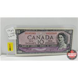 Canada $10 Bill 1954 : Beattie/Coyne ED8165949