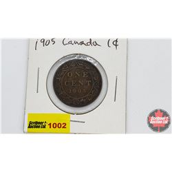 Canada Large Cent : 1905