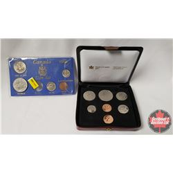 Canada 1980 Collections (2): Double Penny Set & Canada Coin Set (Missing Quarter)