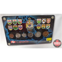 Canada 1991 Year Set Encased