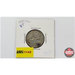 Canada Twenty Five Cent 1947ML