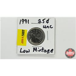 Canada Twenty Five Cent 1991