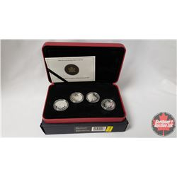 RCM 2004 50-Cent Sterling Silver Coin Set (92.5%)