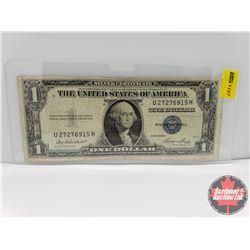 US $1 Bill 1935E  Silver Certificate