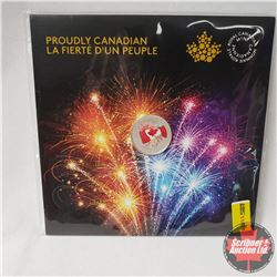 RCM Proudly Canadian 2017 Fine Silver $5 Coin (99.99%)
