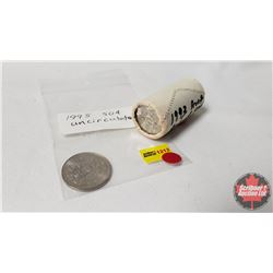 Canada Fifty Cent ROLL 1993 & 1995 Fifty Cent