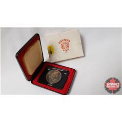 RCM $1 Canada 1871-1971 British Columbia In Capsule and Black Case