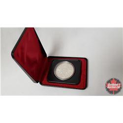RCM $1 Canada 1978 Commonwealth Games Edmonton In Capsule and Black Case