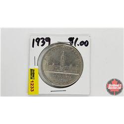 Canada Silver Dollar : 1939