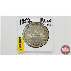 Canada Silver Dollar : 1952
