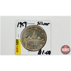 Canada Silver Dollar : 1959