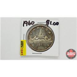 Canada Silver Dollar : 1960
