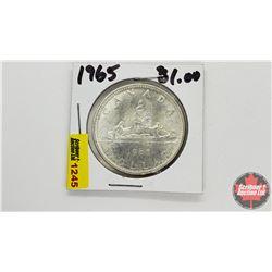 Canada Silver Dollar : 1965