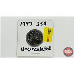 Canada Twenty Five Cent 1997