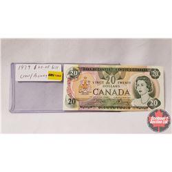 Canada $20 Bill 1979 Crow/Bouey 56341939397