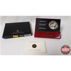 RCM 2006 $30 Sterling Silver Coin : Beaumont-Hamel Newfoundland Memorial