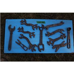 Assorted Wrenches (11)