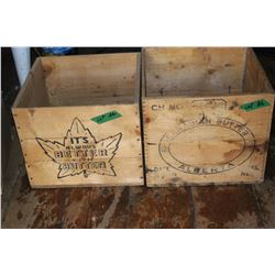 Butter Boxes (2) - Wooden