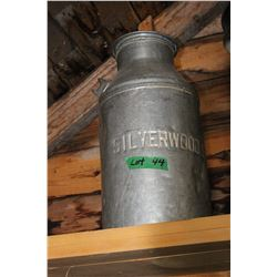 Silver Woods Dairy Cream Can