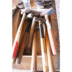 Flat of Assorted Hammers