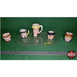 Character Mug Collection (6) Variety Sizes/Characters