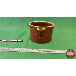 """3 Quart Medalta Potteries Redcliff, Alta Canada (4.5""""H)"""