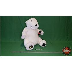 "Large Plush Coca-Cola Polar Bear (24""H)"