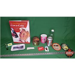 Coca-Cola Collector Combo: The Sparkling Story of Coca-Cola Hardcover Book, Tins, Bottle, Jig Saw Pu