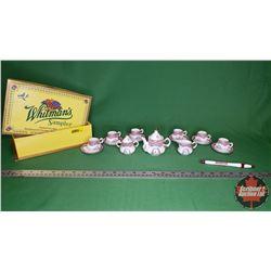 Miniature Limoges China Tea Set