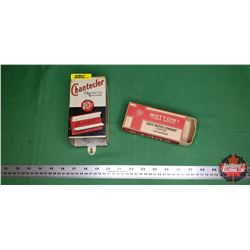 Chantecler Cigarette Paper Dispenser & Eddy Matchbox (Empty)