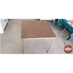 "Card Table (27""H x 30""W x 30""D)"