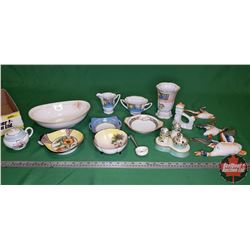 Tray Lot : Occupied Japan, Noritake & Nippon (Variety Items)